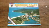 OLD AUSTRALIAN POSTCARD VIEW FOLDER, VIEW OF SUNSHINE COAST