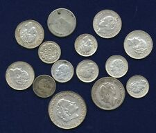 NETHERLANDS COINS: 10 CENTS: 1928, 1937, 1938, 1939, 25 CENTS: 1917, 1941, 1/2 G