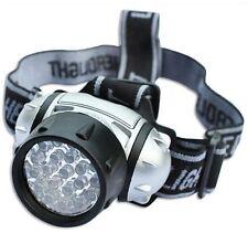 19 LED WATERPROOF ULTRA BRIGHT CAMPING HIKING FISHING HEAD LAMP LIGHT