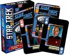 Star Trek The Next Generation Series Playing Cards TNG Poker New Mint Sealed
