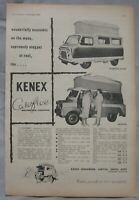 1959 Kenex Carefree Camper van Original advert