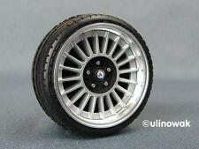 99014-18 Alufelgen 1:18 Alpina-Design 18 Zoll  5/5 mm pn inkl. Logo