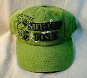 Fishing  Ball Caps, Shut Up and Fish