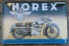 HOREX BIKE RETRO METAL TIN PLATE SIGNS vintage cafe pub garage motorcycle plaque