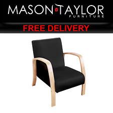Mason Taylor Birch Plywood Fabric Sofa Arm Chair Black ARMCHAIR-SOFA-BK