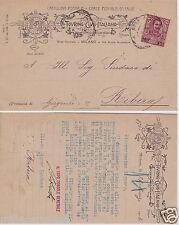 # CTI - TOURING CLUB ITALIANO (Milano) - inv. a RIBERA (Girgenti) - 1906