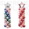 2 Set Balloon Column Arch Base Upright Pole Display Stand Kit For Wedding Party