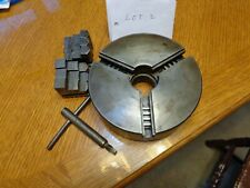 Atlas 3 Jaw Scroll Chuck Fits Craftsman Lathes With 15 8 Spindle Threads