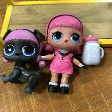 LOL Surprise Confetti Pop Madame Queen & Madame Puppy Serie 3 Glitter Gift Figur