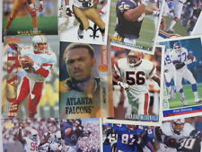 Lot of 100 Assorted Football Cards