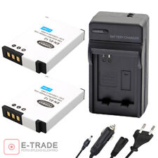 2x Battery + CHARGER - for Nikon EN-EL12 Coolpix P330 AW110 S9500 S9400 New