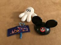 Autograph book ears glove Disney World Mickey Mouse Mr Potato Head lot parts