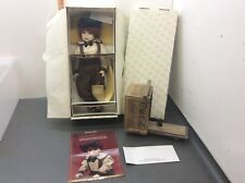 Franklin Mint Heirloom Collector Doll Danny & Scooter Coca Cola w/ Box