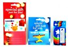 Lot Of 3 - Toys R Us Christmas Holiday Menorah Collectible Gift Card Store Rare For Sale