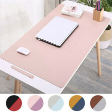 Dual Sided Desk Pad PU Leather Office Desk Protector Mat Waterproof Mouse Pad