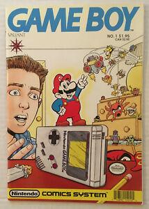 GAME BOY #1 Super Mario Nintendo Comics System Valiant 1990
