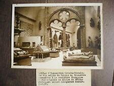PHOTO DE PRESSE 1937 PAVILLON FRANCAIS TROCADERO A L'EXPOSITION INTERNATIONALE