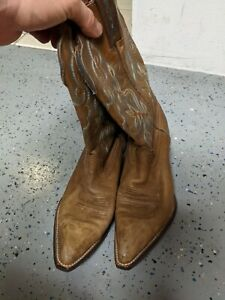 WOMENS ARIAT COWBOY BROWN BOOTS SIZE 9 B