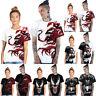 Venom Printed Unisex Men Women Summer Top Short Sleeve T-Shirt Blouse Casual Tee