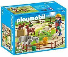 Playmobil 310468 Country Farm Animal Pen with 7 Animals