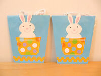 Diy peanuts kids craft color easter gift bags w easter snoopy new hallmark easter small pocket bunny rabbit gift bags set of 2 negle Choice Image