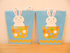Hallmark easter gift bags ebay new hallmark easter small pocket bunny rabbit gift bags set of 2 negle Images