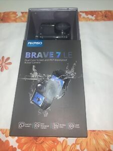 AKASO Brave 7 LE Action Camera, IPX7 Waterproof Navitve 4K 20MP WiFi...