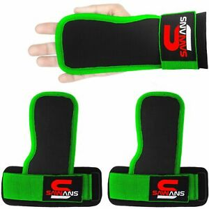 Gym Grips Wrist Pads Support Hand Bar Weight Lifting Straps Training Body Wraps
