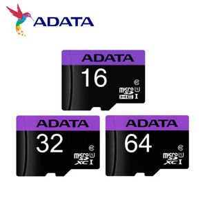 ADATA 16GB 32GB 64GB Premier microSDHC/XC U1 Memory Card for Phone with Adapter