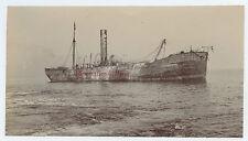 Malte Le Bateau Sardinia Italie Photo Cassar Tirage au citrate 27-11-1908
