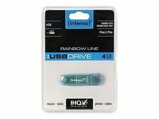 USB FlashDrive 4GB Intenso RAINBOW LINE