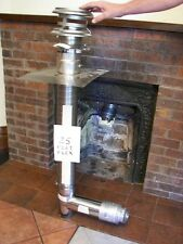 CHIMNEY FLUE EXHAUST KIT,  FIREPLACE INSERT for CORN or WOOD PELLET