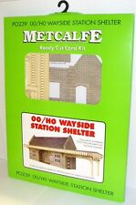 Metcalfe PO239 Stone Built Wayside Station Shelter 00 Railway Model Kit
