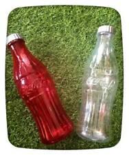 2 Pieces of Coke Contour Bottles Coin Bank Piggy Bank 10 -Inch