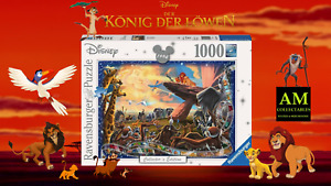 Ravensburger Puzzle - Disney Collector`S Edition the Lion King 1000 Pieces
