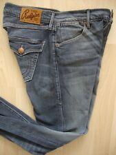 True Religion Cameron Boyfriend Jeans Donna Jeans Pantaloni Grigio Tg. 26 NUOVO con etichetta
