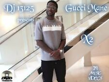 Gucci Mane X2 MUSIC VIDEOS HIP HOP RAP DVD