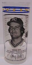 Vtg 1976 GEORGE BRETT KC KANSAS CITY ROYALS OFFICIAL MAJOR LEAGUE BASEBALL GLASS