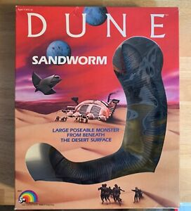 DUNE LJN Sandworm 1984 Action Figure NIB Vintage - Excellent Condition