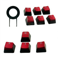 1set Corsair FPS Backlit Key Caps for Gaming Keyboards cherry Key switches red