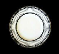 Beautiful Wedgwood Colonnade Black Salad Plate