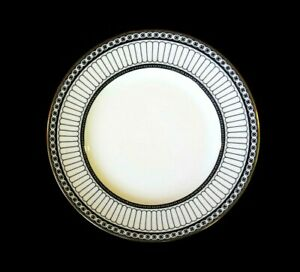 Beautiful Wedgwood Colonnade Black Salad Plate