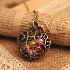 cadena con colgante Corazón Bisutería Retro Vintage Romántico