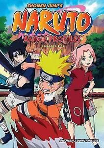 Naruto Anime Profiles: Episodes 1-37 by Masashi Kishimoto  book
