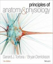 Principles of Anatomy and Physiology by B Derrickson & G Tortora NEW-HARD COVER