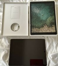 iPad Pro 2nd Gen 64GB WiFi+4G Unlocked 12.9 SpaceGrey Cracked Screen Works Fine