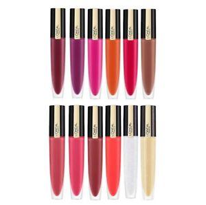 L'Oreal Rouge Signature Matte Liquid Lipstick Various