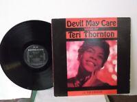 "Teri Thornton,Riverside,""Devil May Care"",Japan,LP,mono,insert,jazz vocals, Mint-"
