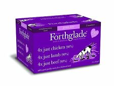 Forthglade 100%25 Natural Grain Free Complementary Dog Pet Food Just 90%25 Meat 395g