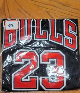 Michael Jordan XXL Nike hardwood classic Jersey NEW black with red stitching